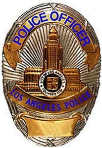 LAPD policy badge