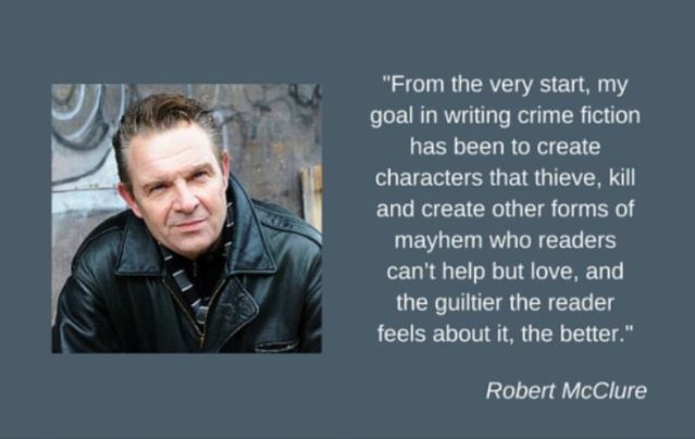Crime Fiction FM interview crime fiction author Robert McClure about debut novel Deadly Lullaby